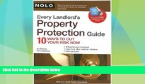 Big Deals  Every Landlord s Property Protection Guide: 10 Ways to Cut Your Risk Now (book w/