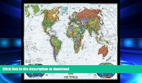 READ THE NEW BOOK World Decorator [Enlarged and Laminated] (National Geographic Reference Map)