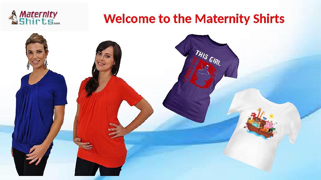 Pregnancy T-Shirts – Maternity Shirts