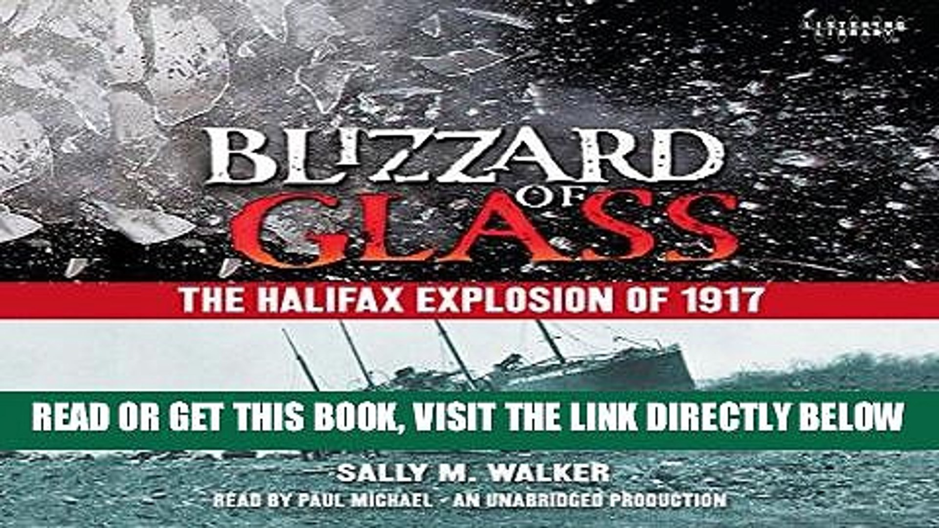 [EBOOK] DOWNLOAD Blizzard of Glass: The Halifax Explosion of 1917 PDF