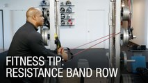 Fitness Tip: Resistance Band Rows