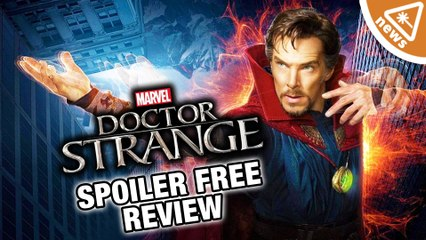 Doctor Strange Spoiler Free Review Rundown! (Nerdist News w/ Jessica Chobot)