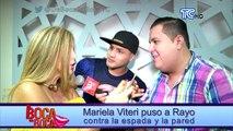 Mariela Viteri encara a Rayo Vizcarra y le pregunta si tiene algo o no con Mafer Pincay