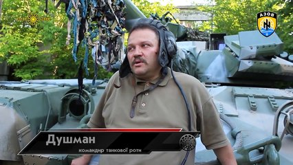 Liberation of the Mariupol by Azov Regiment against Russians neo-communist 2015