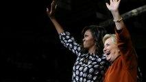 """EUA: Michelle Obama ao lado de Clinton em campanha na Carolina do Norte """"não é acidental"""""""