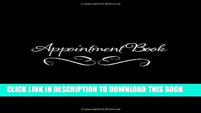 [Free Read] Appointment Book: 6 Columns Appointment Book for Salons, Spas and other Business (52
