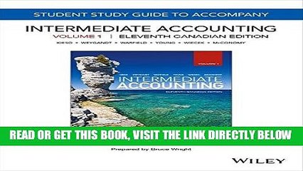 [Free Read] Intermediate Accounting, 11th Canadian Edition, Volume 1 Study Guide Free Online