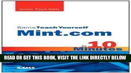 [Free Read] Sams Teach Yourself Mint.com in 10 Minutes (Sams Teach Yourself -- Minutes) Free Online