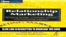 Best Seller Relationship Marketing: Bringing quality, customer service and marketing together (CIM