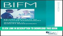 Best Seller BIFM - Paper 12: Quality Management: Workbook (British Institute of Facilities