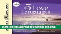 Best Seller The Five Love Languages: The Secret to Love That Lasts Free Read