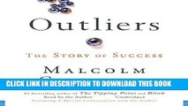 Ebook Outliers: The Story of Success Free Read