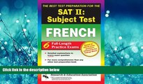 Enjoyed Read SAT French Subject Test, The Best Test Prep (SAT PSAT ACT (College Admission) Prep)