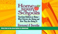 READ  Home-Spun Schools: Teaching Children at home-What Parents Are Doing and How They Are Doing