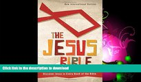 READ BOOK  NIV, The Jesus Bible, Hardcover: Discover Jesus in Every Book of the Bible FULL ONLINE