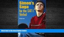 Popular Book Simon s Saga for the New SAT Verbal