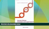 Big Deals  Domain Names - Strategies and Legal Aspects  Best Seller Books Best Seller