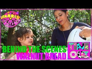 Walnut Bread By Daria - Behind The Scenes | Starrin Time Out with Daria