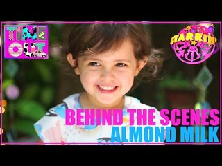 Almond Milk by Daria - Behind The Scenes | Starrin Time Out with Daria