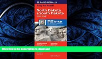 READ THE NEW BOOK Rand McNally Folded Map: North Dakota, South Dakota (Rand McNally State Maps)