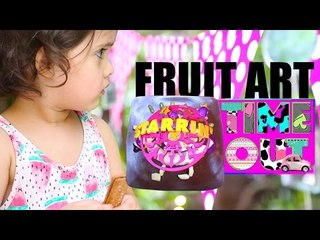 Fruit Art (Doggy) by Daria | Starrin Time Out with Daria
