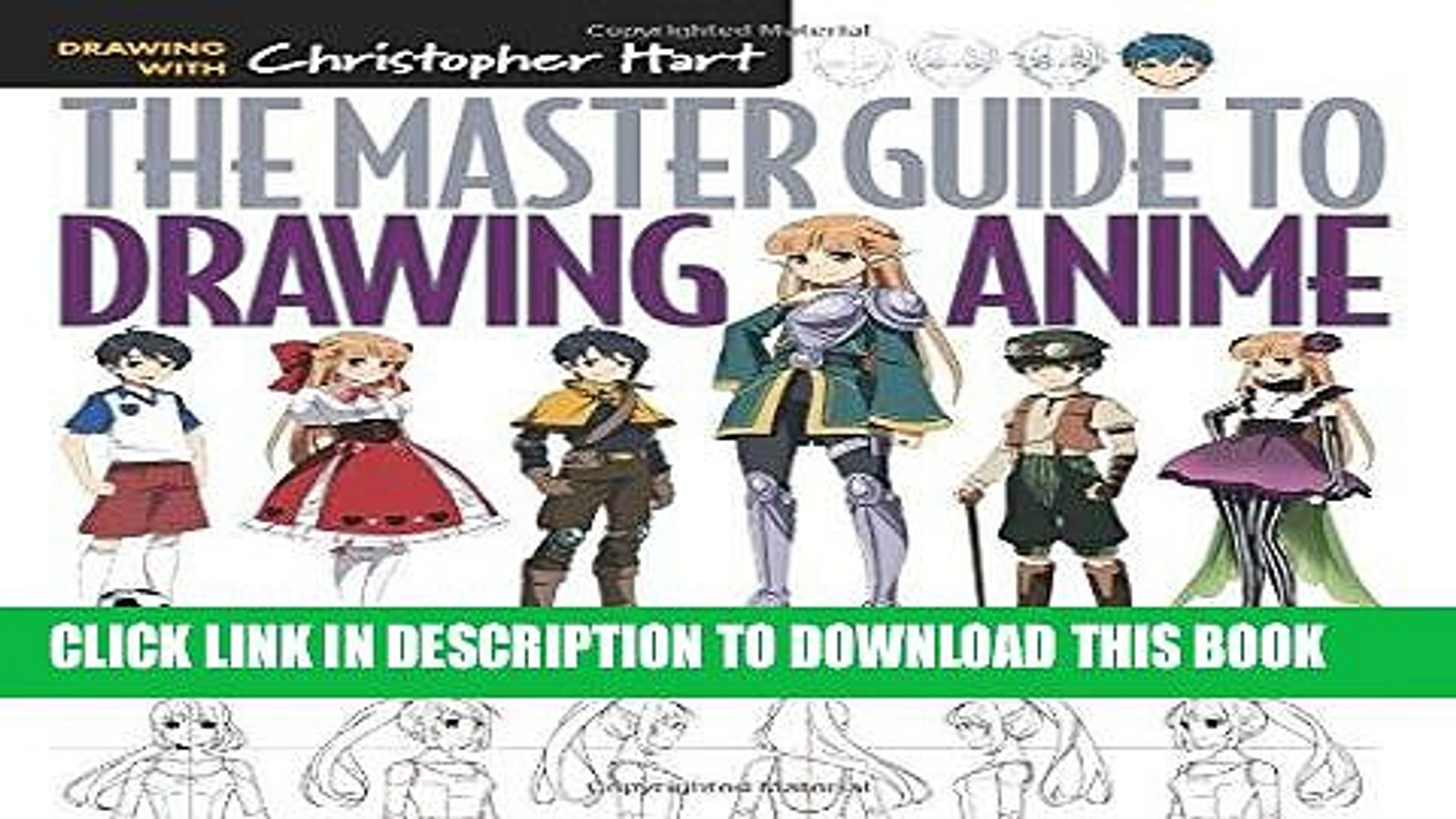 Best Seller The Master Guide To Drawing Anime How To Draw Original Characters From Simple Video Dailymotion