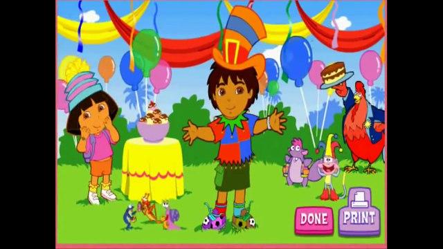 Dora The Explorer - Super Silly Costume Maker - Game