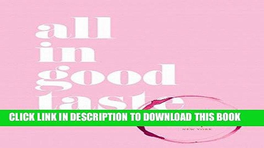 Ebook kate spade new york: all in good taste Free Read