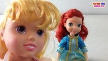 FORTUNE DAYS: Ariel Doll, Disney Princess Dolls: Aurora - Collection Toys Video For Kids