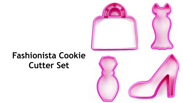 Stylize Your Cookies With Fashionista Cookie Cutters