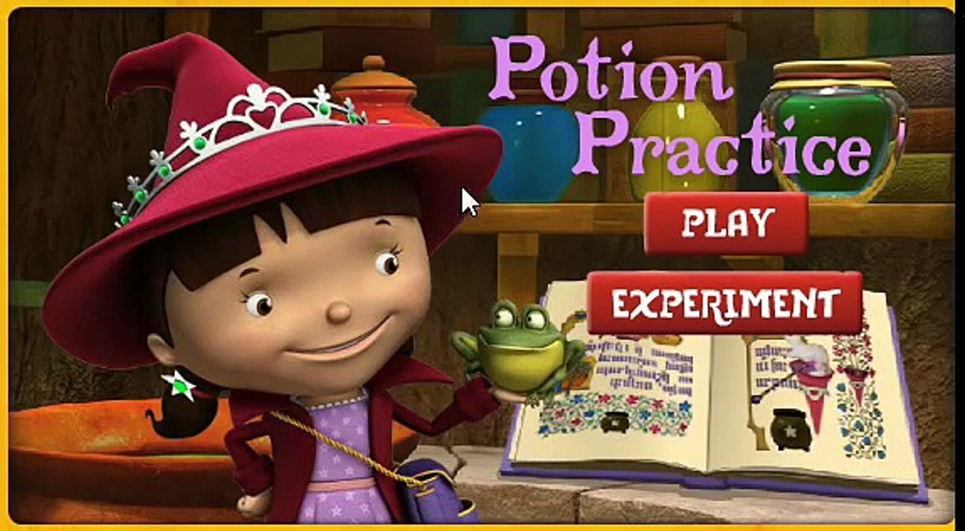 MIKE THE KNIGHT POTION PRACTICE Full Gameplay - Mike the Knight Cartoon Full Episodes Game