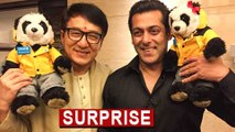 Salman Khan AMAZING Surprise For Jackie Chan  Jackie Chan In India  Kung Fu Yoga