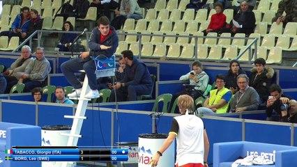 Leo BORG (SWE) vs Giorgo TABACCO (ITA) - 1st round main draw - Les Petits As 2017