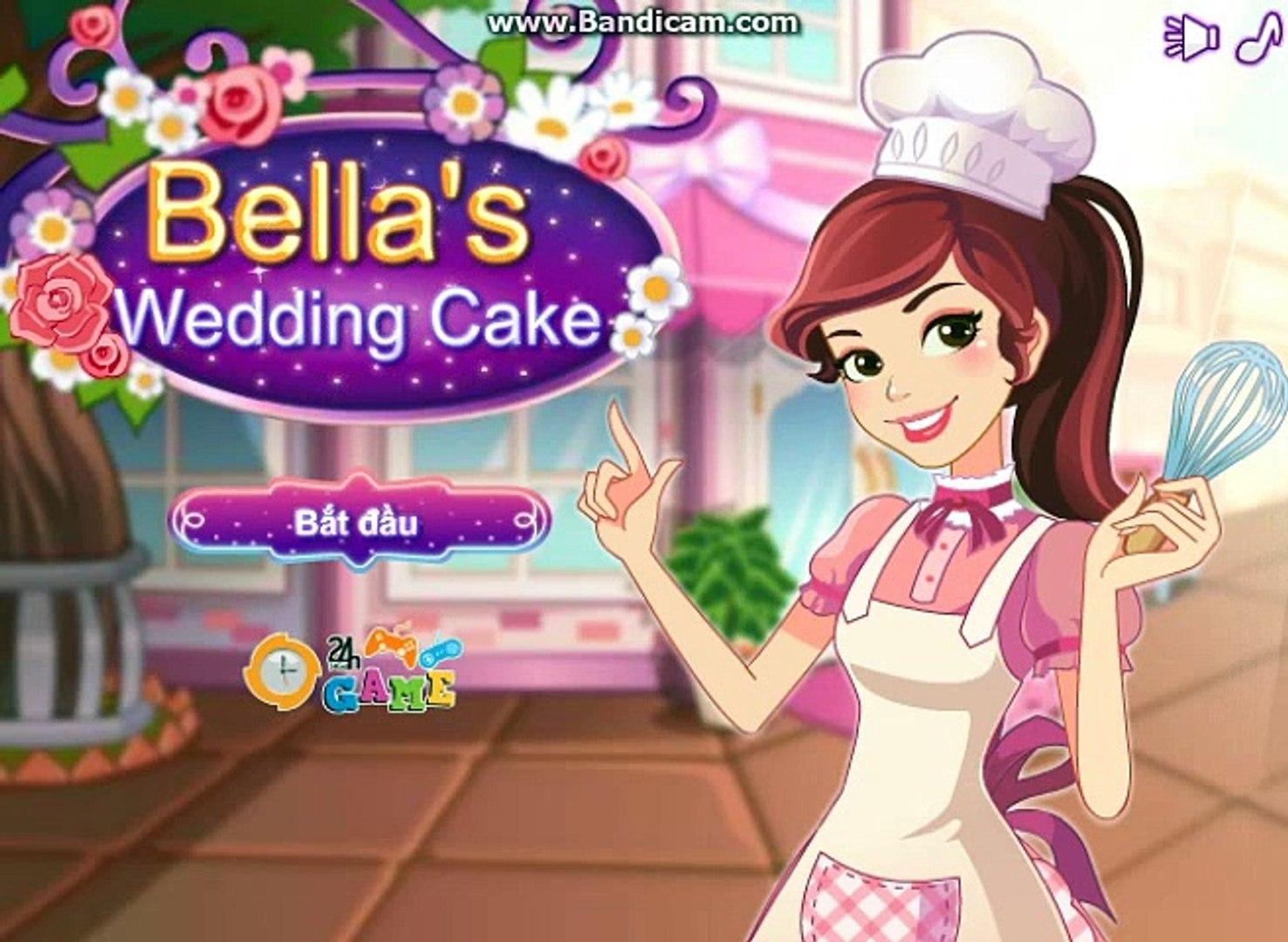 Game làm bánh cưới - Game nấu ăn hay - Game 24h-Game bé gái-Game vui-game hay