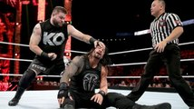 Roman Reigns vs Kevin Owens One On One Match For WWE United State Championship At WWE Raw