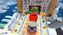 Color Police Cars and Sport Cars with Policeman Spiderman Cartoon for Kids Song More Nursery Rhymes