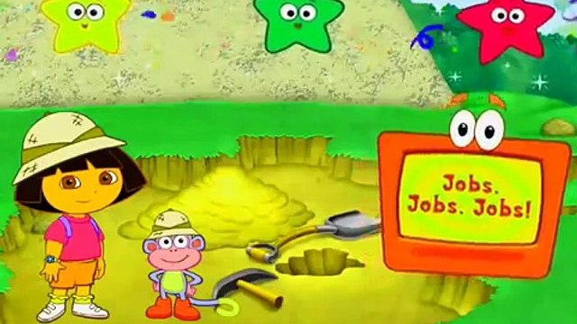 Dora The Explorer Jobs, Jobs, Jobs!