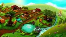 Kids Learn Feeding Animals l Feeding Time Farm Animals Gameplay video