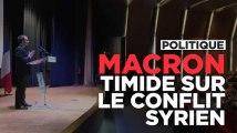 """Emmanuel Macron au Liban : """"Bachar al Assad est un dirigeant qui a failli"""""""