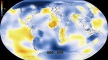 La NASA resume en 20 segundos el cambio climático de los últimos 100 años