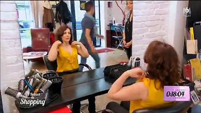 Une candidate des Reines du shopping ne rassure pas du tout Cristina Cordula chez le coiffeur !