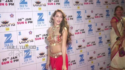Nora Fatehi Sexy Belly Dance | Umang 2017 Police Event