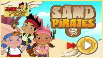Jake and The Nerveland Pirates: The Sand Pirates! Disney Jake The Pirate Games for Kids!