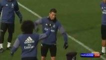 Cristiano Ronaldo imita a Pogba DAB Cr7 • 2017