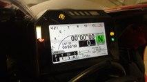 Honda CBR 1000 RR tableau de bord