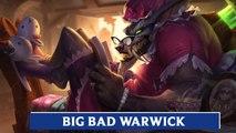 LOL PBE: Big Bad Warwick Skin Update Preview