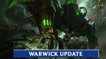 LOL PBE: Warwick Champion Update Preview