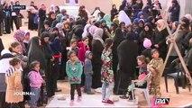 Funérailles du bédouin mort dans le village bédouin