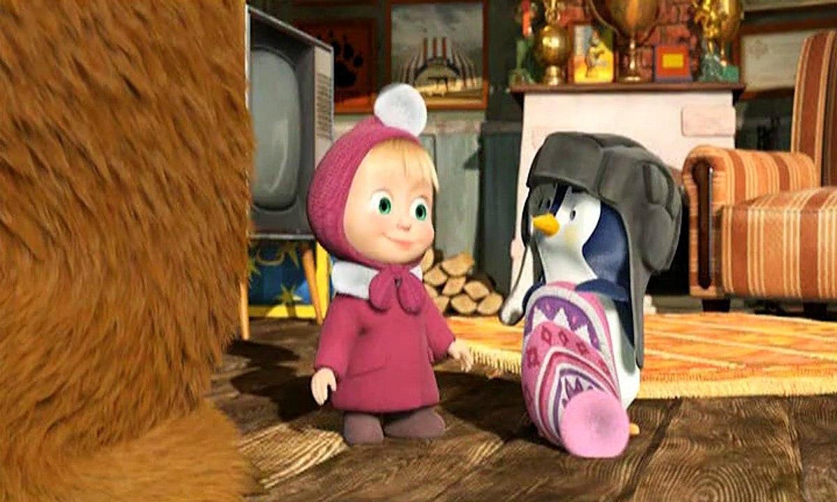 Картинка пингвиненка из маши и медведя