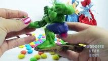 Hulk Ironman Superheroes Toys Surprise Eggs for Children   Captain America Superheroes Surprise Eggs